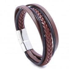 #20 - Bruin leren armband