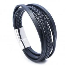 #21 - Zwart leren armband