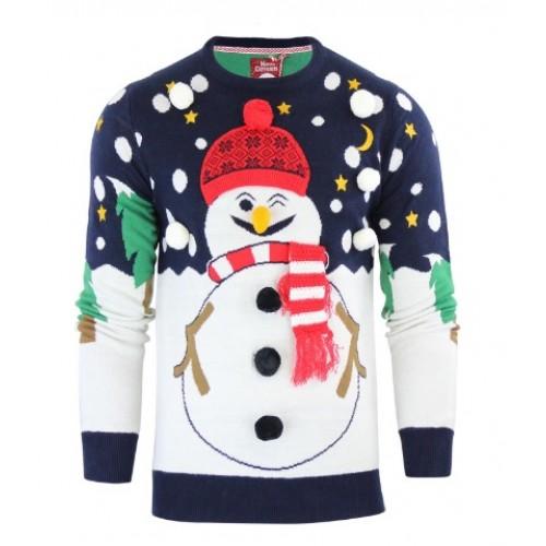 Foute Kersttrui 3xl.Kersttrui Sneeuwpop Kerst 2018