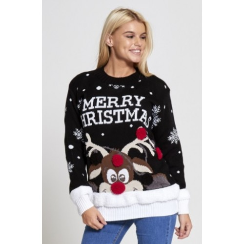 Foute Kersttrui Xl.Foute Kersttrui Merry Christmas