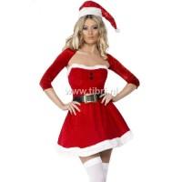 Kerstpakje - Santa Belle met bolero UITVERKOCHT