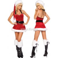 Kerstpakje - Santa Christmas mini dress UITVERKOCHT