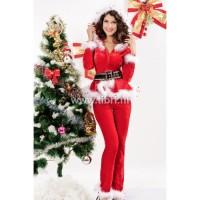 Kerstpak - Punky Santa Hoodie UITVERKOCHT