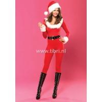 Kerstpakje - Santa baby catsuit LA UITVERKOCHT