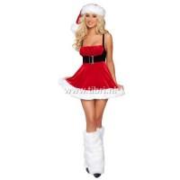 Kerstpakje - Santa Christmas lady kerstjurkje
