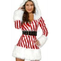 Kerstpakje - Miss Santa Gestreept UITVERKOCHT