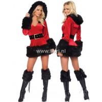 Kerstpakje - Miss Santa DeLuxe Zwart UITVERKOCHT