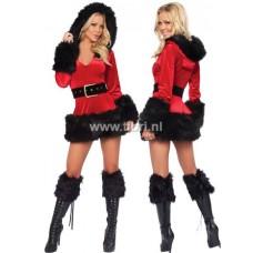 Kerstpakje - Miss Santa DeLuxe Zwart