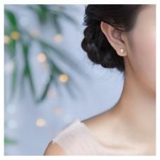 #407 - Zilveren oorknop ster