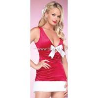 Sexy Kerstpakje met speels strikje UITVERKOCHT